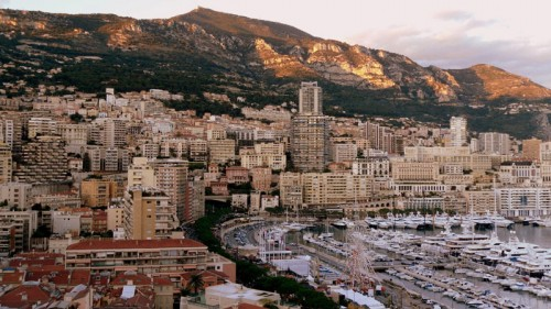 Monte Carlo Harbor Skyline