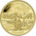 100th Anniversary of the Canadian Arctic Expedition $100 Gold Coin