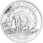100th Anniversary of the Canadian Arctic Expedition Silver Dollar