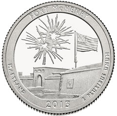 Fort McHenry Quarter