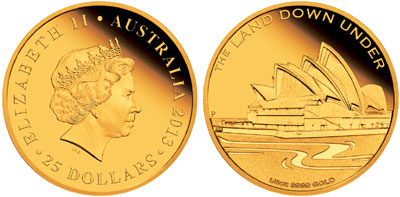 Sydney Opera House Gold Coin