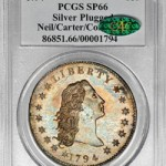 1794 Silver Dollar Sells for Record $10 Million