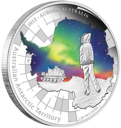 2013 Aurora Australis Silver Coin