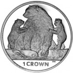 Kermode Bear Featured on Isle of Man Crown Coin