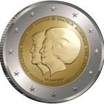 First Dutch Coin Marking the Royal Succession