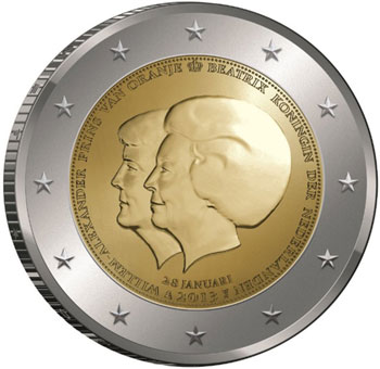2013 Dutch Succession Coin