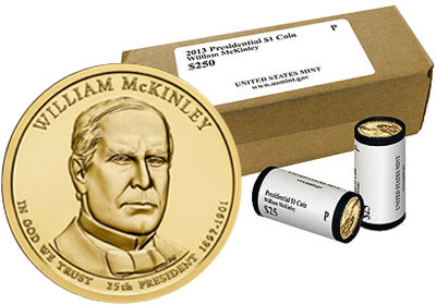 William McKinley Presidential Dollar Products