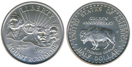 Mount Rushmore Half Dollar