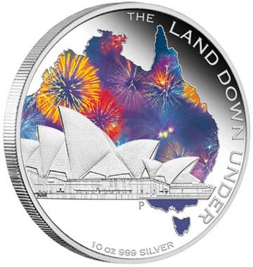 Sydney Opera House Silver Coin