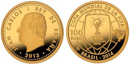 World Cup Gold Coin