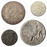 Utrecht Peace Anniversary Focus of Antique Coin & Replica Set