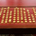 Champagne Lanson Gold Coins