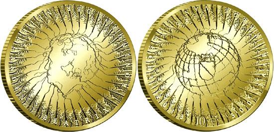 Treaty of Utrecht Gold Coin