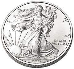 2012-W Silver Eagle