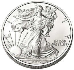 2012-W Uncirculated Silver Eagle