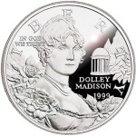 Remembering the 1999 Dolley Madison Silver Dollar
