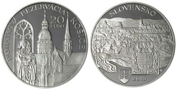 Slovakia Košice Silver Coin
