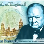 Sir Winston Churchill To Be Featured on New £5 Banknote