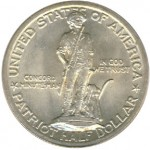 1925 Lexington-Concord Sesquicentennial Half Dollar