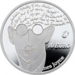 2013 James Joyce 10 Euro Silver Proof Coin