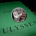 Joyce's best known work Ulysses and the Central Bank of Ireland's coin tribute meet for the first time.
