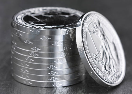Silver Britannia Year of the Snake Coins
