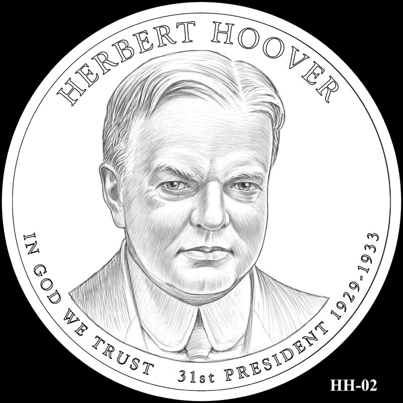 CFA Reviews Designs for 2014 Presidential Dollars | Coin Update