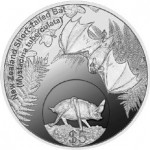New Zealand Short-Tailed Bat $5 Silver Coin
