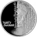 Rūdolfs Blaumanis Remembered on EUROPA Silver Star Coin
