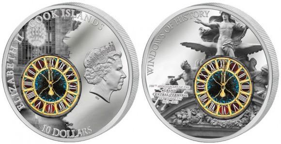 Grand Central Terminal Silver Coin
