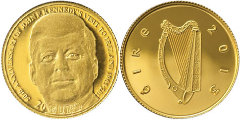 John F. Kennedy Gold Coin