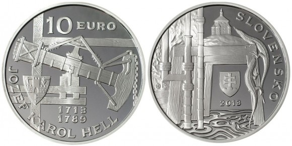 Jozef Karol Hell Silver Coin