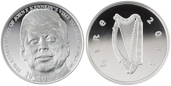 John F. Kennedy Silver Coin