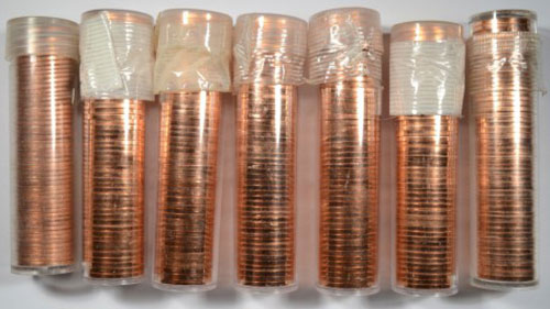 Lincoln Cent Rolls