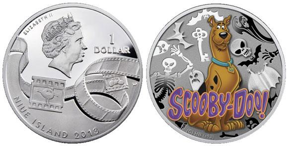 Scooby Doo Silver Coin