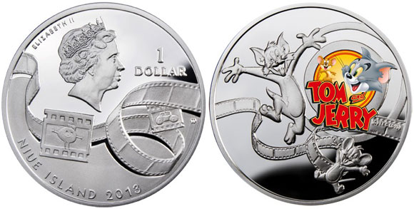 Tom & Jerry Silver Coin