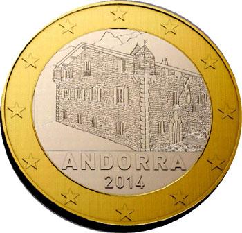 Andorra 1 Euro Coin