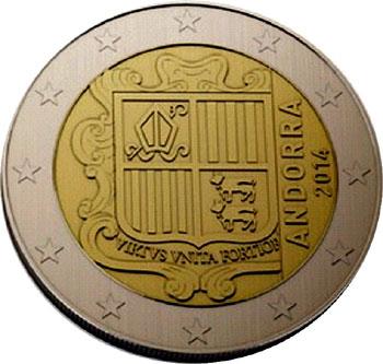 Andorra 2 Euro Coin