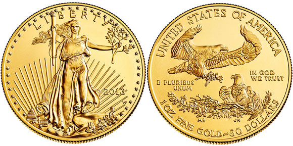 2013-W Uncirculated Gold Eagle