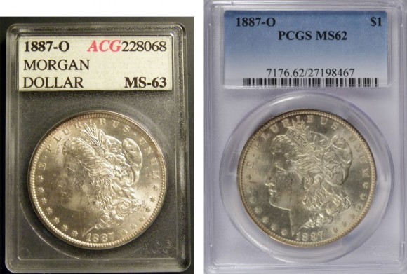 ACG to PCGS Crossover