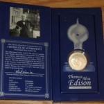 2004 Thomas Edison Collector's Set Included Functioning Light