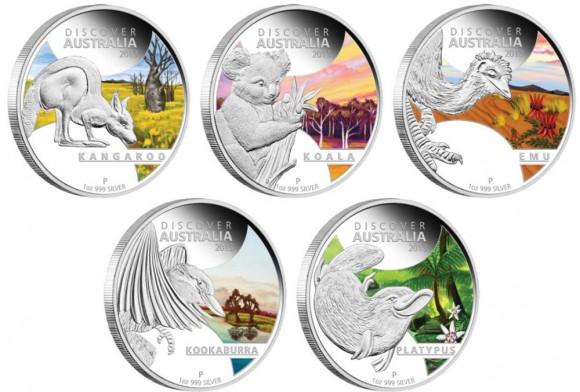 Discover Australia Silver Coins