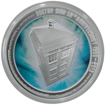 Doctor Who Coin
