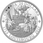 Louisbourg Settlement Highlighted with New Coins