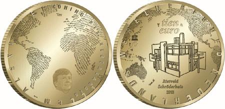 Rietveld Schroderhuis Gold Coin