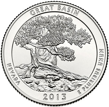 Great Basin National Park Quarter