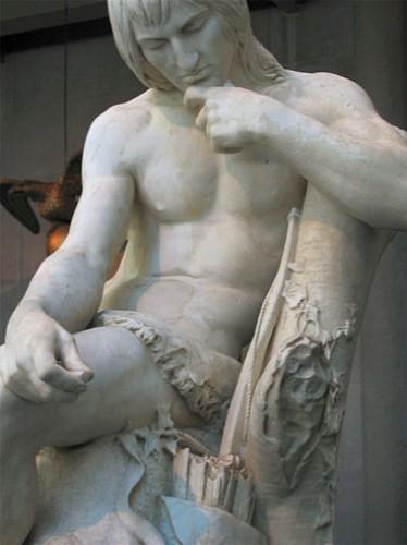 Hiawatha by Augustus Saint Gaudens.
