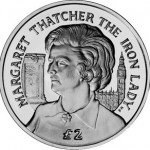 Ascension Island Coin Remembers Lady Thatcher