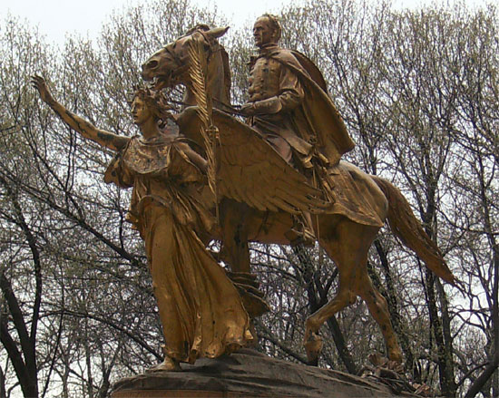 General William Tecumseh Sherman Monument by Augustus Saint-Gaudens