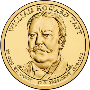 William Howard Taft Presidential Dollar